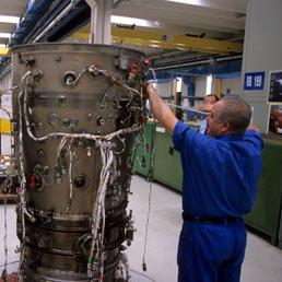 General Electric a un passo dall'acquisizione di Avio. Operazione del valore di 3 miliardi di euro (Imagoeconomica)