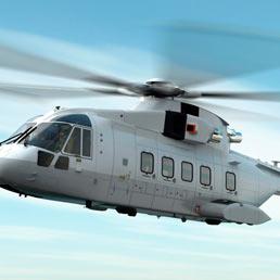 Un'elicottero AgustaWestland. (Ansa)