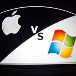 Apple contro Microsoft: storia di due giganti della tecnologia
