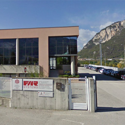 La sede di Rovereto di Far Systems (foto da Google Maps)