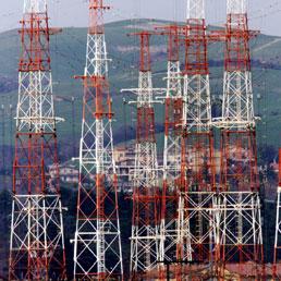 Le antenne di Radio Vaticana a Cesano (Ansa)
