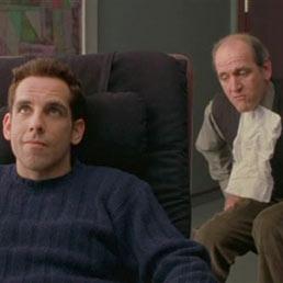 Ben Stiller sul lettino dello psicalista nel film 'Tutti pazzi per Mary'