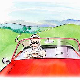Per le auto di lusso il bollo arriva a costare il doppio (Corbis)
