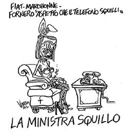 La vignetta di Vauro sul Manifesto