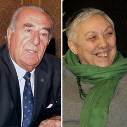 Giancarlo Gentilini, Manuela Dal Lago. (Fotogramma)
