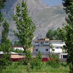 Il rifugio di Osama Bin Laden nella località pakistana di Abbottabad fotografato dalle Forze Speciali Usa (Ap)