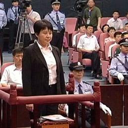 Gu Kailai condannata a morte (ma la pena è stata sospesa)