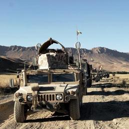 Con il ritiro americano da Kabul i russi tornano in prima linea contro i Jihadisti (Ansa)