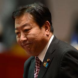 Il premier giapponese Yoshihiko Noda. (Afp)