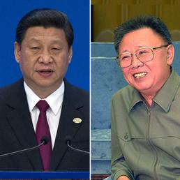 Xi Jinping e Kim Jong