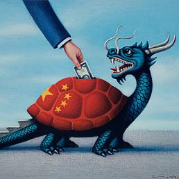 La locomotiva cinese rallenta: ecco i pericoli per l'economia mondiale (Corbis)