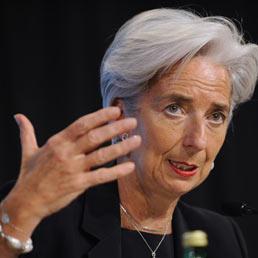 Christine Lagarde, ministro delle Finanze francese (Epa)