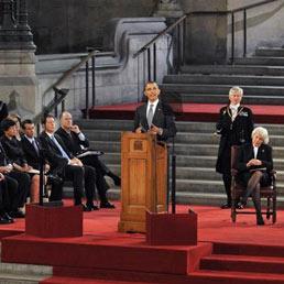 Obama a Westminster