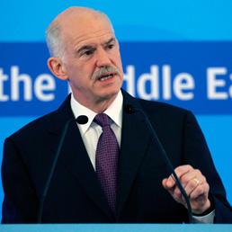 Il Primo ministro greco, George Papandreou (Ap)
