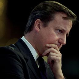 Il premier britannico David Cameron (Afp)