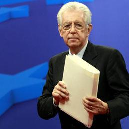 Nella foto il premier Mario Monti
