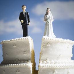 Risultati immagini per fine di un matrimonio