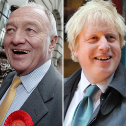 Ken Livingstone e Boris Johnson