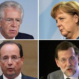 Monti Merkel Rajoy Hollande ansa 258x258