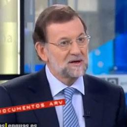 Il primo ministro spagnolo, Mariano Rajoy