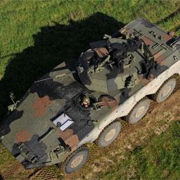 """Il veicolo da combattimento digitalizzato """"Freccia"""" (foto dal sito www.esercito.difesa.it)"""