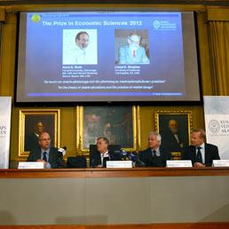 Il Nobel per l'economia va a Roth e Shapley per la teoria delle allocazioni stabili e dei piani di mercato