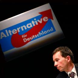 "Bernd Lucke, co-fondatore di ""Alternative fuer Deutschland"" (Alternativa per la Germania) (REUTERS/Kai Pfaffenbach)"