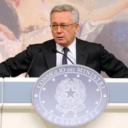 Il ministro dell'economia Giulio Tremonti (Olycom)