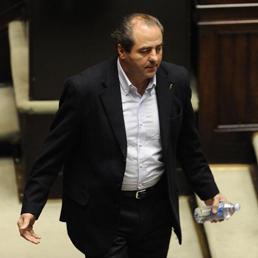 Da Napoli ai referendum, come Di Pietro condiziona il Pd (Foto Ansa)