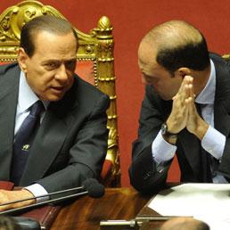 Giustizia al rush finale: dopo l'ok del Cdm la riforma partirà dal Senato. Bersani accusa: è solo un diversivo (ANSA)
