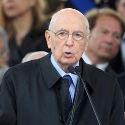 Napolitano: dai magistrati contributo di fermezza e coraggio, no alla rottura della legalità