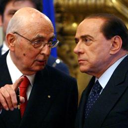 Napolitano a Berlusconi: coerenza sulla Libia (Ansa)