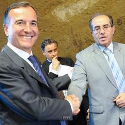 Frattini: stretta una collaborazione con il Cnt libico (Ansa)