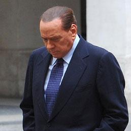 Il presidente del Consiglio, Silvio Berlusconi
