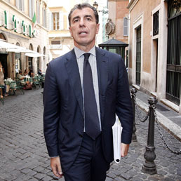 L'ex braccio destro di Giulio Tremonti, Marco Milanese (ANSA/GIUSEPPE LAMI)