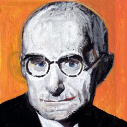 Luigi Einaudi (disegno di Andrea Ventura)