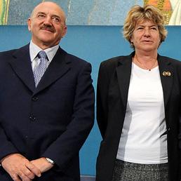 Luigi Angeletti e Susanna Camusso (Ansa)