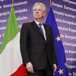 Italia e Ue, la doppia via di Monti (Epa)