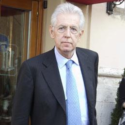 l'incontro a Palazzo Chigi tra il premier Silvio Berlusconi e Mario Monti (ANSA)