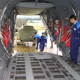 Cargo tattico C-27J