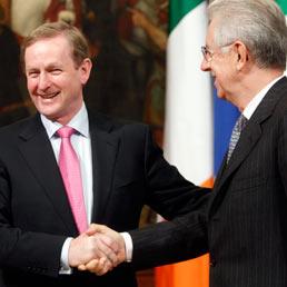 L'Italia imiti l'Irlanda. Monti: ai sacrifici segue la ripresa (Ap)