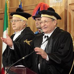 Il presidente della Corte dei Conti Luigi Giampaolino