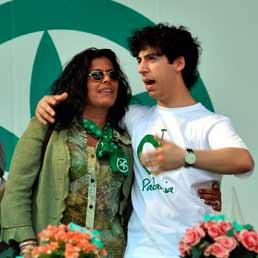 Rosy Mauro e Renzo Bossi. (Fotogramma)