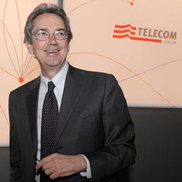La7 in vendita: perché fa gola soprattutto ad acquirenti stranieri. Nella foto il presidente esecutivo di Telecom Italia Franco Bernabè