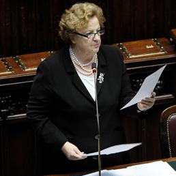 Il ministro Anna Maria Cancellieri riferisce alla Camera sull'attentato di Brindisi (AGF)