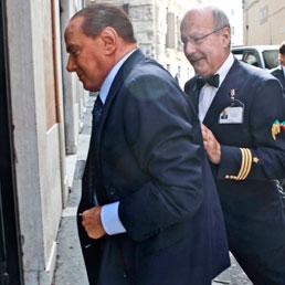 Riunione gruppi parlamentari PDL. Nella foto: Silvio Berlusconi (Mauro Scrobogna /LaPresse)
