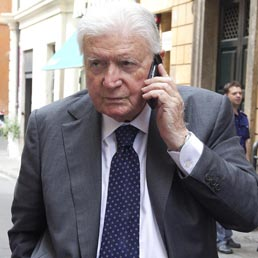 Sergio Zavoli (Ansa)