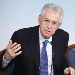 Monti: Italia su un percorso di guerra