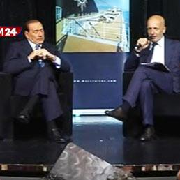 Berlusconi e Sallusti