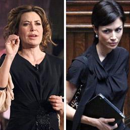 Sabina Guzzanti e Mara Carfagna